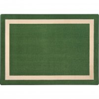 "Portrait Theme Area Rug 10'9"" x 13'2"" RECTANGLE Greenfield JC1479G"