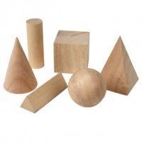 Wooden-Geometric-Solids LER 0120-6