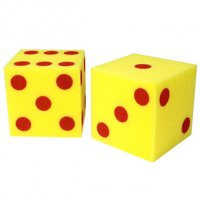 Giant Foam Dice - Dots LER 0411