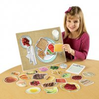 Pretend & Play Magnetic Healthy Foods LER-0497
