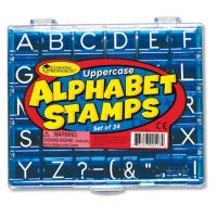 Uppercase Alphabet Stamps LER 0597