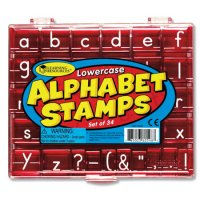 Lowercase Alphabet Stamps LER 0598