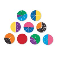 Rainbow Fraction® Deluxe Circles LER 0617