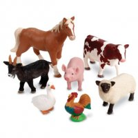Jumbo Farm Animals LER 0694