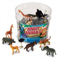 Jungle Animal Counters LER 0697
