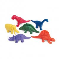 Mini Dino Counters, Set of 108 LER 0710