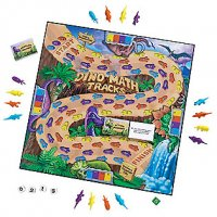 Dino Math Tracks® Place-Value Game LER 0712