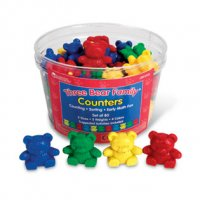 Three Bear Family® Counters: Basic Set LER 0725