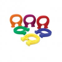Horseshoe-Shaped Magnets, Set of 6 LER 0790