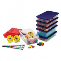 Grades 1–2 Manipulatives Kit for Hands-On Standards®: Photo-illustrated Lessons for Teaching with Math Manipulatives LER 0861