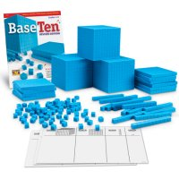 Plastic Base Ten Place Value Set LER 0931