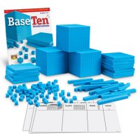 Plastic Base Ten Class Set Item # LER 0932