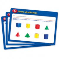 Folding Geometric Shapes Activity Cards LER 0991