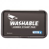 Jumbo Washable Black Stamp Pad EI-1426