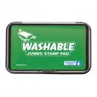 Jumbo Washable Green Stamp Pad EI-1428