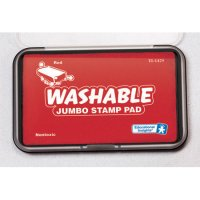 Jumbo Washable Red Stamp Pad EI-1429