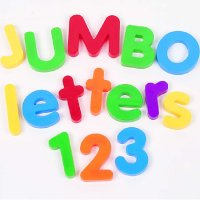 Jumbo Magnetic Letters & Numbers Combo Set LER 1455