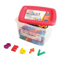 Multicolored AlphaMagnets® & MathMagnets Combo Set EI-1636