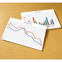 Write-On/Wipe-off Math Graphs Desk Mats Set of 30 LER 1639