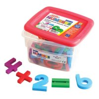 MathMagnets® Jumbo Multicolored Magnets EI-1686