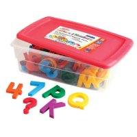 Jumbo AlphaMagnets® & MathMagnets® Multicolored Combo Set EI-1688