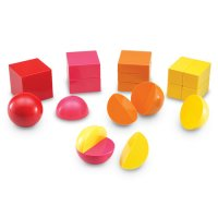 Magnetic 3-D Fraction Shapes LER 1911