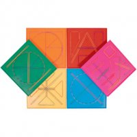 "7"" Double-Sided Geoboard 20330"