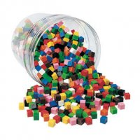 Centimeter Cubes, Set of 500 LER 2076