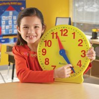 Big Time™ Learning Clock®, 12-Hour Demonstration Clock LER 2094