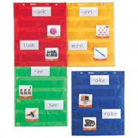Magnetic Pocket Chart Squares, Set of 4 LER 2384