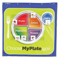 Healthy Helpings™ MyPlate Pocket Chart  LER 2394