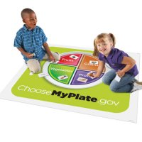 Healthy Helpings™ MyPlate Activity Mat  LER 2396