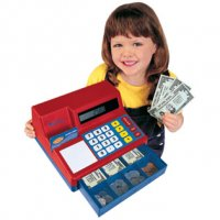 Pretend & Play® Calculator Cash Register LER 2629