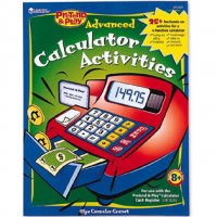Pretend & Play® Advanced Calculator Activity Book  LER 2639