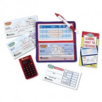 Pretend & Play® Checkbook with Calculator LER 2651
