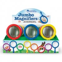 Jumbo Magnifiers, Set of 12 LER 2775