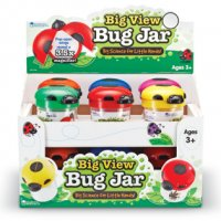Primary Science Big View Bug Jars, Set of 12 LER 2780