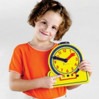Primary Time Teacher™ Junior 12-Hour Learning Clock® LER 2994