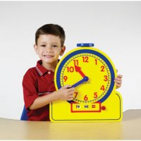 Primary Time Teacher™ 12-Hour Learning Clock® LER 2996