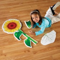 Flower Foam Floor Puzzle LER 3326