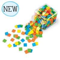 Brights!™ Color Tiles, Set of 400 Item # LER 3553
