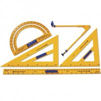 Plastic Demonstration Geometry Tool Set 35599