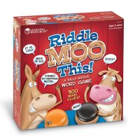 Riddle Moo This™ - A Silly Riddle Word Game Item # LER 3772