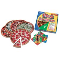 Pizza Fraction Fun™ Game LER 5060