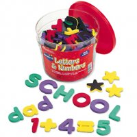 Magnetic Foam Letters & Numbers Deluxe Set LER 6306