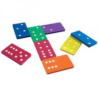 Jumbo Foam Dominoes LER 6380