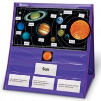 Solar System Magnetic Tabletop Pocket Chart LER 6504