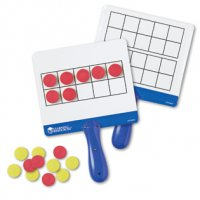 Magnetic Ten-Frame Answer Boards LER 6645