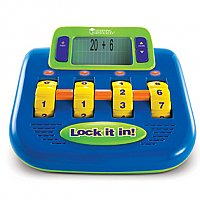 Lock It In!™ Electronic Math Challenge LER 6960