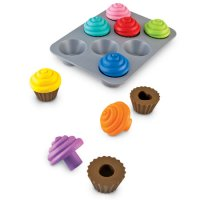 Smart Snacks® Shape Sorting Cupcakes LER 7347